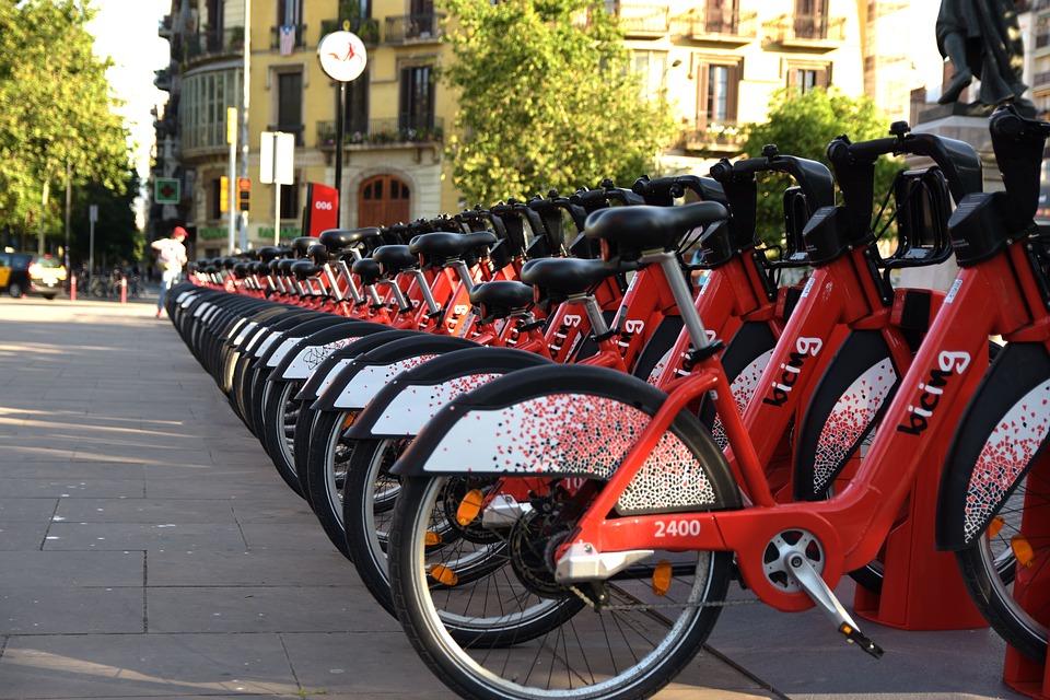 Barcelona fiets sharing